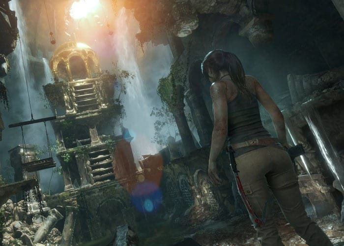 Rise of the Tomb Raider PS4 Gameplay