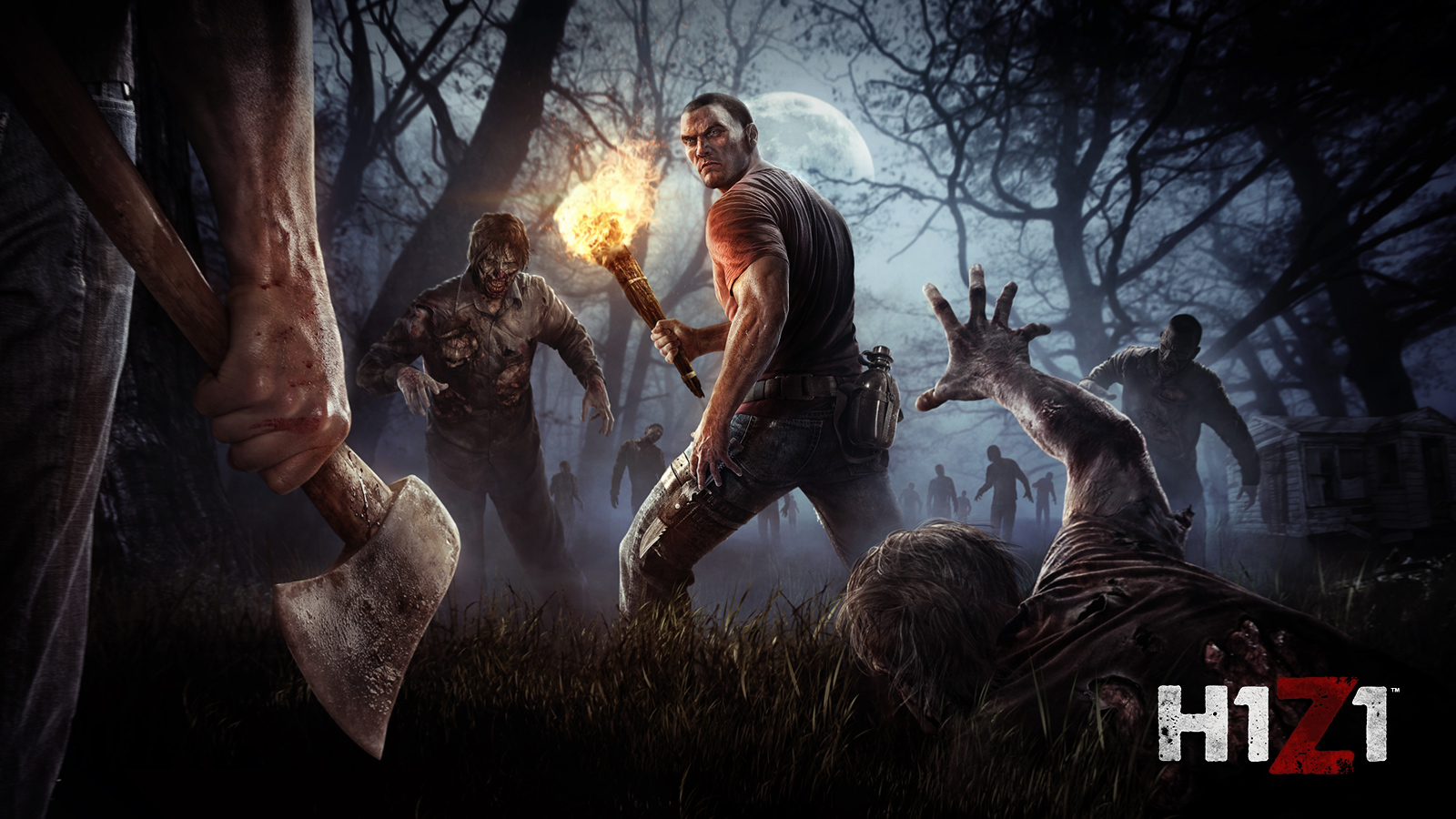 Free-To-Play Battle Royale H1Z1 To Release On PS4 This May | ST