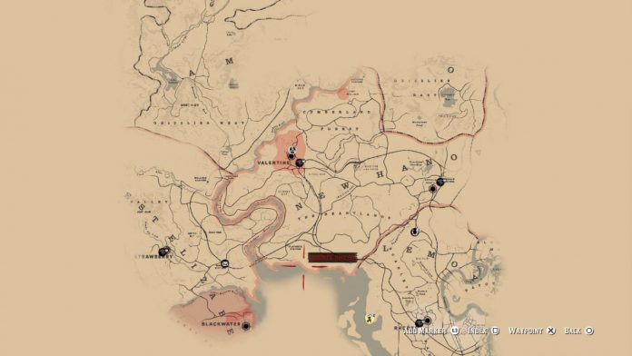 Red Dead Redemption 2 Map Leak