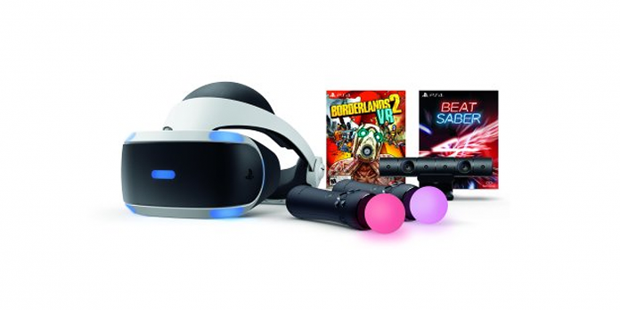 PSVR Bundle - Borderlands 2 VR and Beat Saber