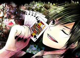 Poker in Manga and Anime