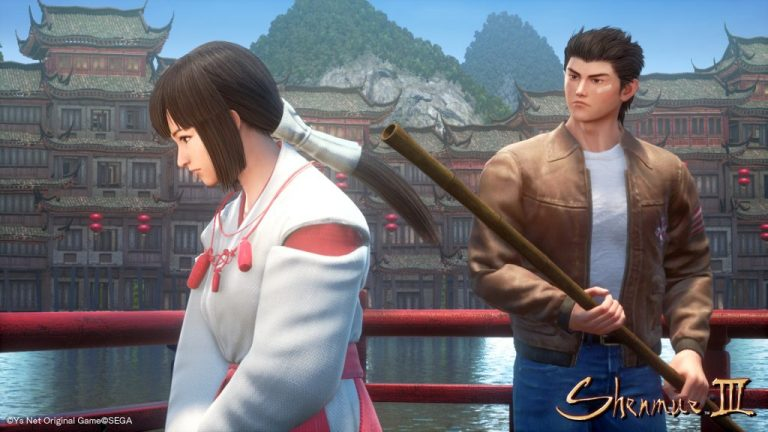 Shenmue 3 in game pic