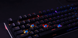 Ant Esports MK3400W Mechanical Pro Backlit Gaming Keyboard