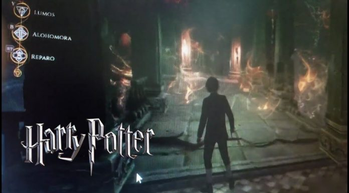 leaked footage from the Harry potter