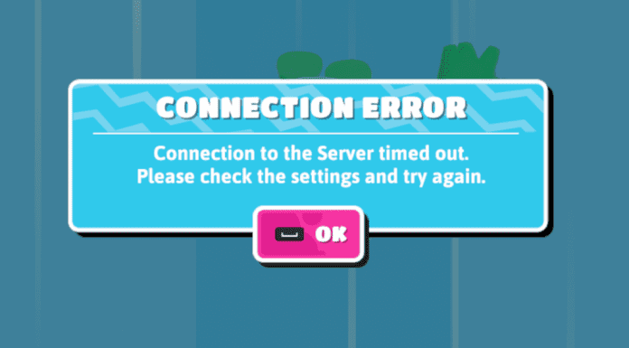 fall guys connection error