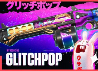 Valorant Glitch Pop Skins