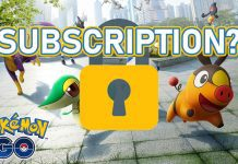 Pokemon Go Subscription