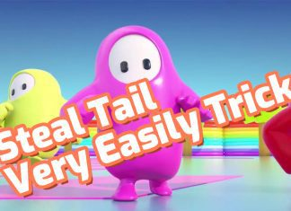 fall guys steal tail very easily trick