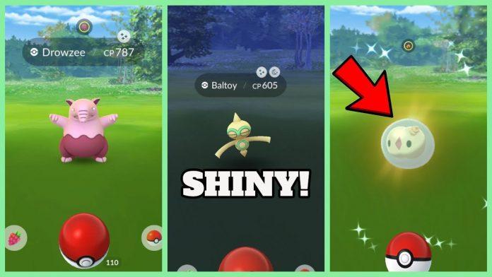 shiny baltoy pokemon go