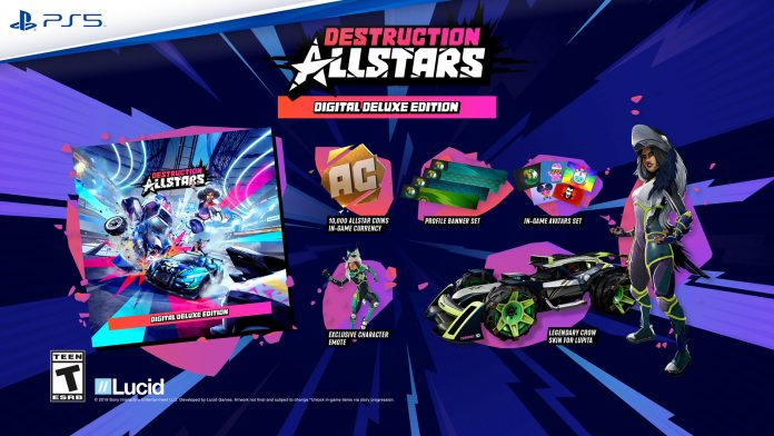 Destruction AllStars Will Have Microtransactions? Costs $70 On PS5