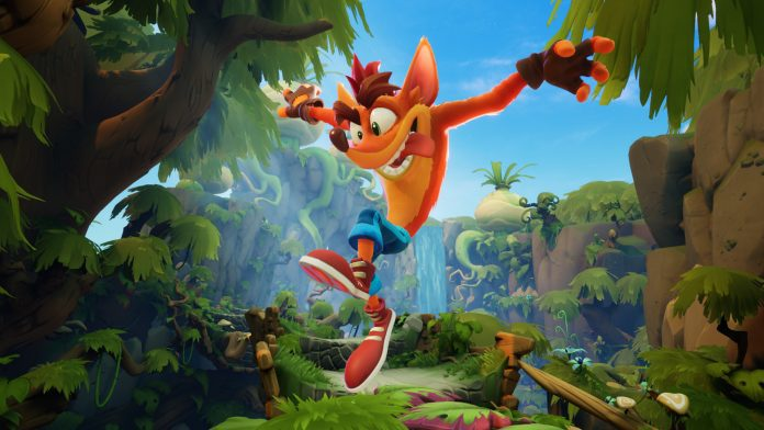 Crash Bandicoot 4 tops the UK charts