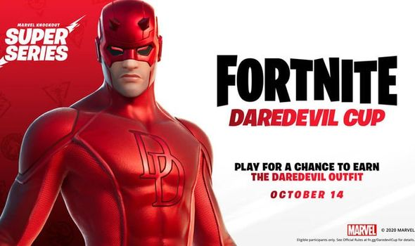 Fortnite Daredevil cup