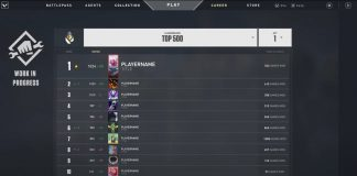 Valorant Server Selector, Top 500 Radiant Leaderboard and More Coming