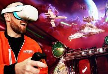 Star Wars Squadrons VR HOTAS Joystick Flight Controls