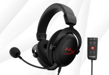 HyperX Releases Cloud Core Gaming Headset with 7.1 Surround Sound