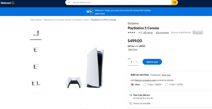 PlayStation 5 Orders Now Live On Walmart; Hurry Up!