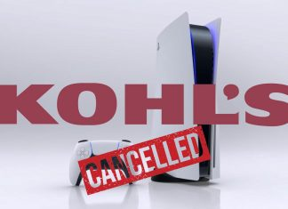 Kohl's canceling PS5 orders