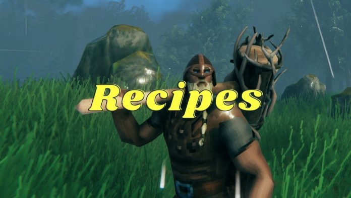Valheim Crafting Recipes